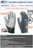 Нейлон датчика Nmsafety 10 & ANSI 3 кожи Aramid & стальных волокна вкладыша ладони отрезали упорную перчатку