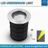 Ângulo de feixe ajustável 9W12W luz subterrâneo do LED