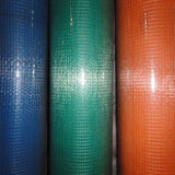 4つのカラー良質のPVCによって塗られる溶接された金網