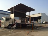 Publicidade exterior Mobile LED Display Screen Billboard Large Stage Truck