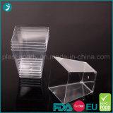 Tazones de fuente plásticos claros disponibles
