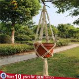 Вешалка завода Macrame веревочки Cotto для домашнего Deco