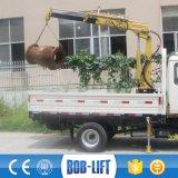 소형 판매를 위한 트럭에 의하여 거치되는 기중기