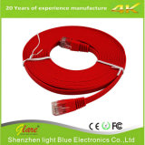 Cabo Ethernet PVC Cat 6 de cor azul 6FT