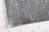 アルミホイルの消火活動のための上塗を施してあるガラス繊維の布