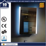 Miroir lumineux par DEL en aluminium libre de cuivre argenté de bâti