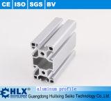 Profil en aluminium lustré élevé avec la configuration anti-calorique