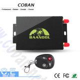 GPS van de Auto van Coban GSM SMS GPRS van de Drijver Tk105b GPS van het Apparaat van het Voertuig de Volgende Afstandsbediening van het Merkteken met Dubbele SIM