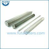 Entfernbarer Metallineinander greifen-Kerzenfilter für Faser