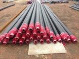 En253 Matériau d'isolation de tuyaux avec mousse de polyuréthane et protection HDPE externe
