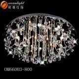 Moderne Kristallform-dekorative Decken-Lampen Om66008 der lampen-preiswerte Kristalldecken-Lampen-U