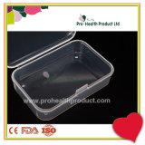 piccolo contenitore quadrato di recipiente di plastica di 7.5*5*2cm