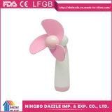 Preiswerte Plastikhochgeschwindigkeitsminibatterie-handlicher Ventilator