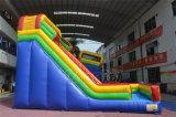 子供のための高く最もよいPVC乾燥した膨脹可能なスライド18フィートの