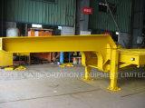 De Oplegger van Lowbed van tri-assen (Afmeting 8000mmx3000mm van het Platform)