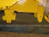 Semi-Trailer de Lowbed dos Tri-Eixos (dimensão 8000mmx3000mm da plataforma)