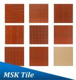 nuove mattonelle rosse della cava di terracotta 350X350 per la villa