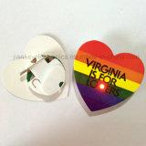 Tasto infiammante caldo di Pin di vendita LED con il marchio stampato (3569)