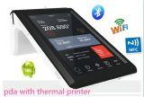 Pantalla táctil de mano PDV Mobile Barcode Scanner Ts-7002 EMV Card Reader