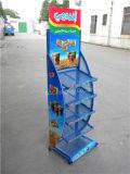Présentoir promotionnel de supermarché d'étagère de nourriture de treillis métallique en métal