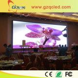 P7.62 cubierta de la pantalla a todo color del LED de pared para TV