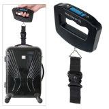 50kg de bagagem de viagem prático balança digital de pesagem