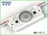 1.5W DC12VはLEDの印のモジュールライトABS鋳造物の注入を指示する