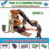 Linha de produção de máquinas de tijolos, fabricação de blocos de concreto da China
