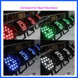 Indicatore luminoso dell'interno di PARITÀ dello zoom 18PCS*18W della lampadina del LED
