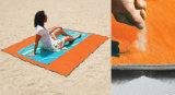 砂の自由な折るピクニック総括的な敷物のわら浜のマットの椅子のクッション