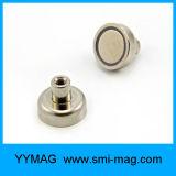 Сильный магнит бака удерживания неодимия NdFeB с внутренне резьбой/гаечной резьбой