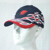 Изготовленный на заказ бейсбольная кепка способа идущим вышитая шлемом участвуя в гонке крышки