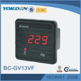 Gv13vf Digital LED-Bildschirmanzeige-Voltmeter-Frequenz-Messinstrument