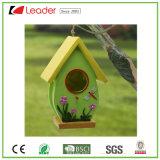 Birdhouse сада Polyresin Best-Seller для украшения лужайки и вала