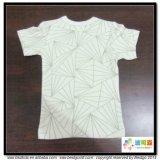 T-shirt nouveau-né de Gots d'usure du bébé 0-Neck