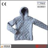 China de boa qualidade leve inverno acolchoado mulheres casaco quente
