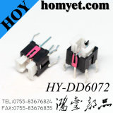 Interruptor de tato de interruptor tátil iluminado DIP com LED