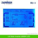 C.C de 4000W 12V 24V 48V à l'inverseur pur d'énergie solaire d'onde sinusoïdale à C.A. 110V 220V