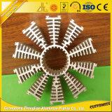 Zhonglian aleación de aluminio del radiador para el mecanizado de piezas con forma de Customized y Fin