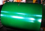La bobina d'acciaio ricoperta colore, Ral9002 tetto d'acciaio galvanizzato preverniciato bianco della bobina Z275/Metal riveste i materiali da costruzione