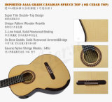 Guitarra clásica de la alta calidad llana principal