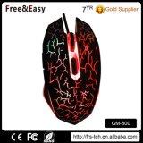Fabrik preiswerteste USB verdrahtete optische beleuchtende Gamer Maus
