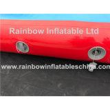 Colchón inflable caliente Airtrack de la gimnasia de Dwf con insignia/la estera Tumbling inflable