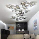 Innen-LED, die luxuriöse Aluminiumdecken-Lampe für Landhaus in Guzhen beleuchtet
