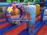Riesiger interaktiver aufblasbarer Prahler-Innenspielplatz
