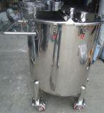O tanque de aço inoxidável polido industrial do tanque de mistura