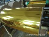 ペットスライバおよび金カラーの熱ラミネーションホイル