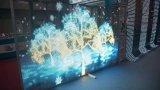 Windows 프로젝트를 위한 유리제 투명한 LED 스크린 또는 높은 정의를 가진 건물 벽