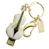 A ourivesaria mini-guitarra Memory Stick Pen Drive Flash USB