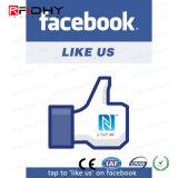 RFID NFCの一般的でスマートなポスター